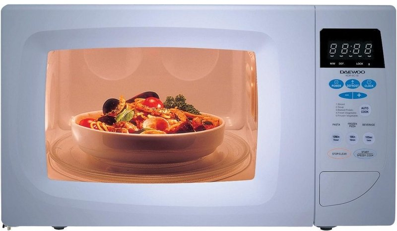 Daewoo Electronics Kor 6qdbs Microwave Oven Famous